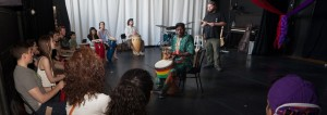 slyboots master drumming class